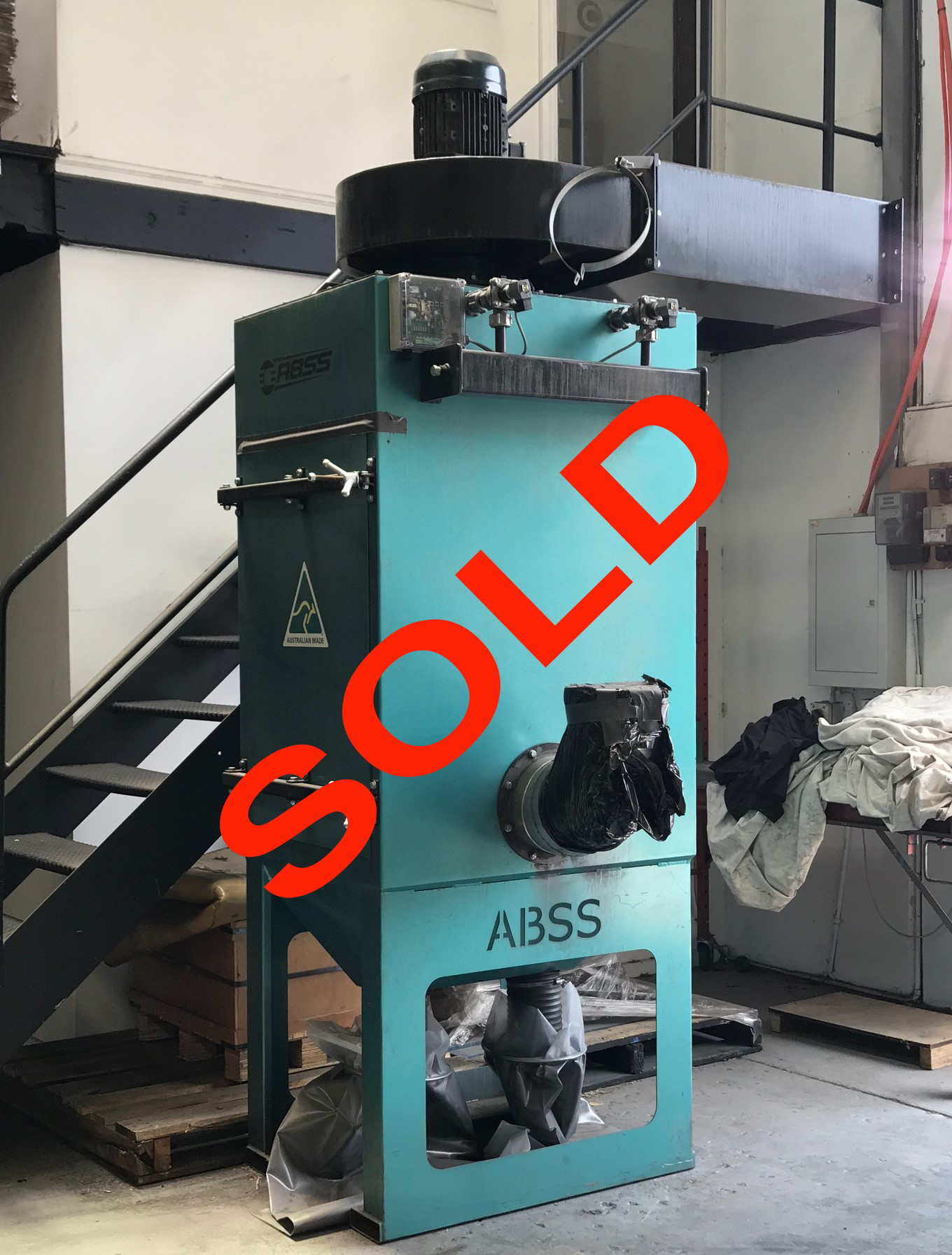 Dust Collector ABSS 2 SOLD